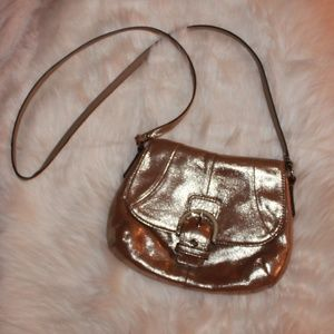 Coach Bags - Coach Metallic Gold Crossbody bag